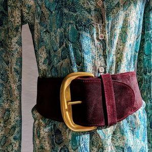 Vintage Donna Karan Statement Belt